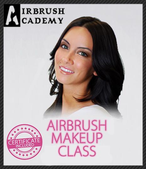 December 2021 Airbrush Makeup Class